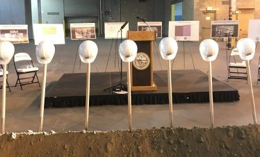 Groundbreaking Ceremony for new Culinary and Nutrition Center