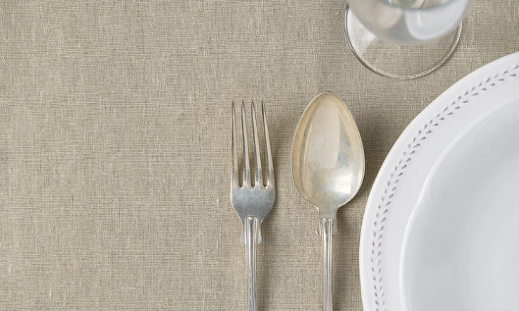 Linen and china Image
