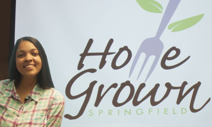 Winning Student Brand Design, Home Grown Springfield,  Revealed for New SPS Culinary Program